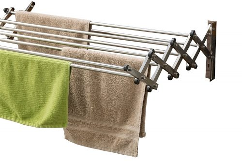 Aero-W Stainless Steel Folding Clothes Rack