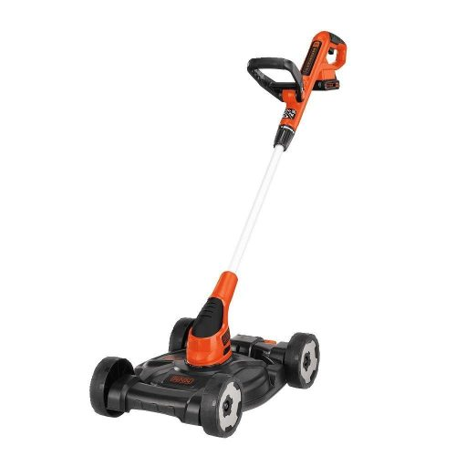 BLACK+DECKER MTC220 20V Lithium Ion 3-in-1 Trimmer/Edger and Mower