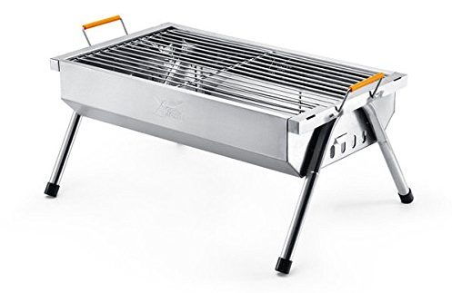 Bargain World YUTOO Stainless Steel Outdoor Portable Charcoal Barbecue Grill