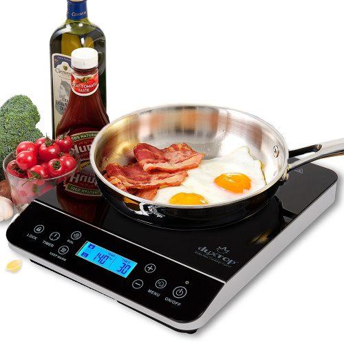 Duxtop LCD 1800-Watt Portable Induction Cooktop Countertop Burner