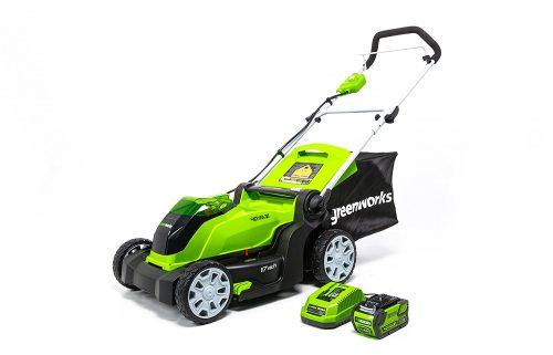 Greenworks 17-Inch 40V Cordless Lawn Mower