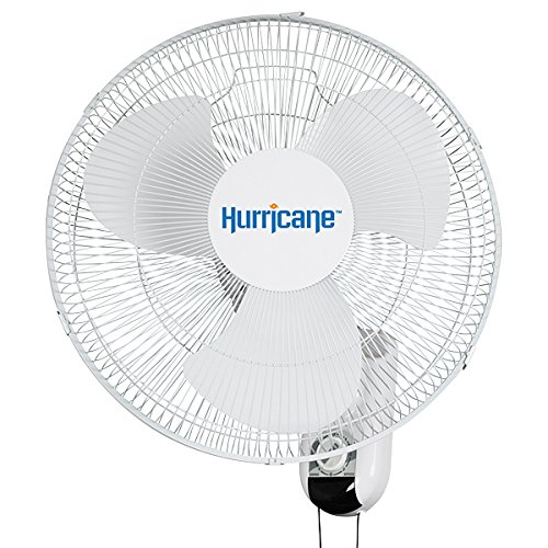 Hurricane Wall Mount Fan - 16 Inch