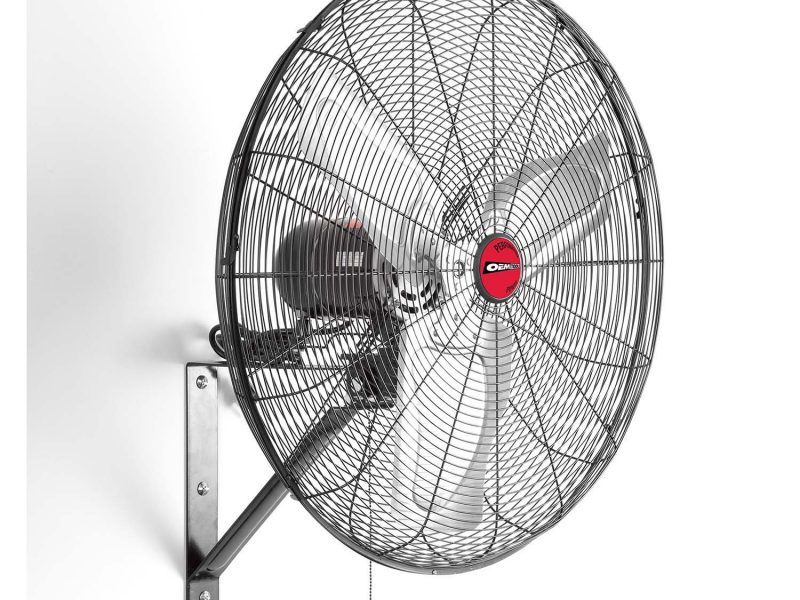 OEMTOOLS 24883 24 Inch Oscillating Wall Mount Fan