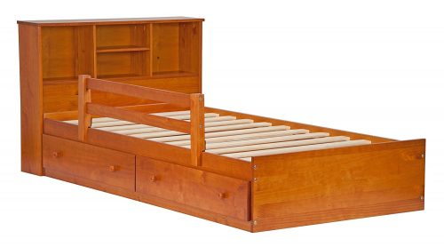 Palace Imports 2434 100% Solid Wood Kansas Mate's Platform Storage Bed