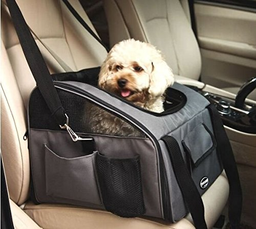 Pettom Pet Car Seat Carrier for Dog Cat