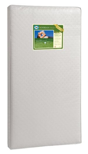 Sealy Soybean Foam-Core Infant/Toddler Crib Mattress