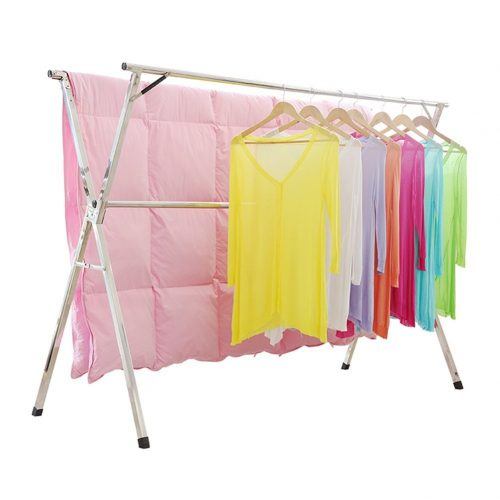 Stainless Steel Laundry Drying Rack Free Installed