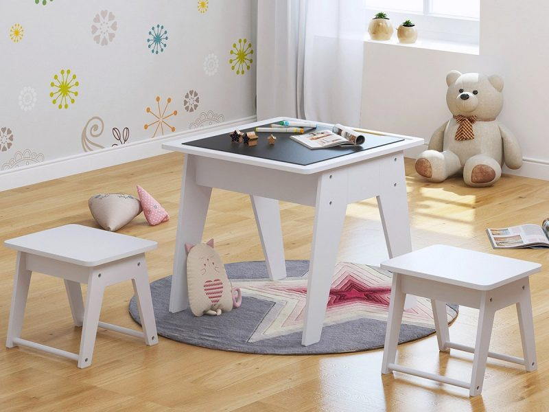 UTEX Kids 3pcs Wooden Table