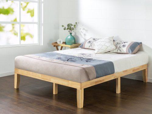 Zinus 14 Inch Wood Platform Bed-Wood Bed Platforms