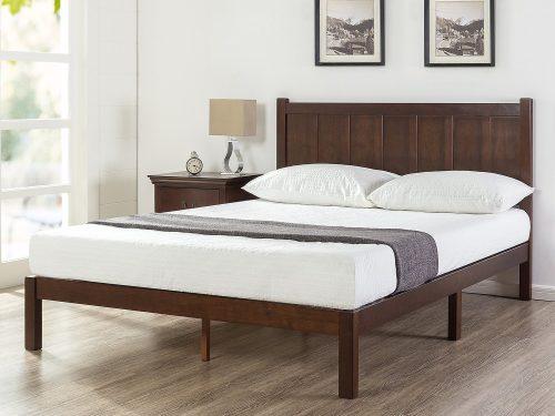 Zinus Wood Rustic Style Platform Bed