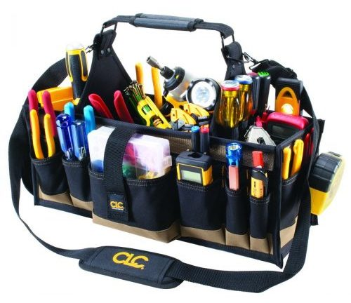 CLC Custom Leathercraft 1530 43-Pocket Electrical-Electrician Tool Bags