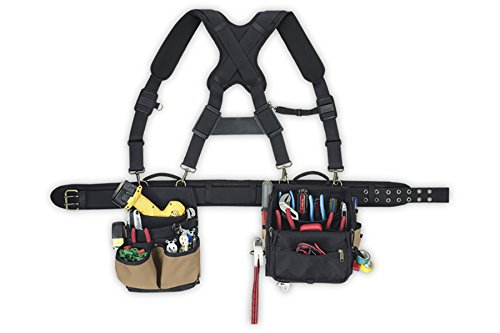 CLC Custom Leathercraft 1608 Electrician's Comfort Lift Combo Tool Belt