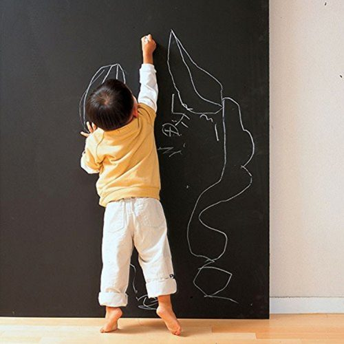 Coavas Multi-Purpose Chalkboard Contact Paper Wall Decals