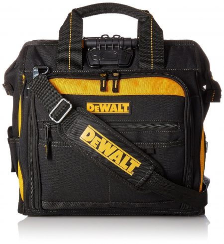DEWALT DGL573 Lighted Technician's Tool Bag-Electrician Tool Bags
