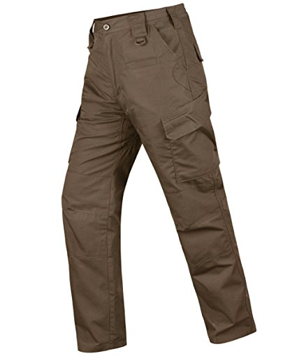 HARD LAND Men's Waterproof Tactical Pants Ripstop Work Cargo Pants