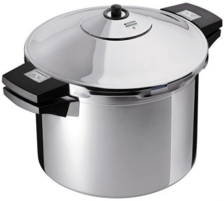 Kuhn Rikon Duromatic Stainless-Steel Stockpot Pressure Cooker