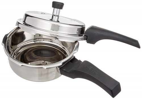 Prestige 2L Alpha Deluxe Induction Base Stainless Steel Pressure Cooker