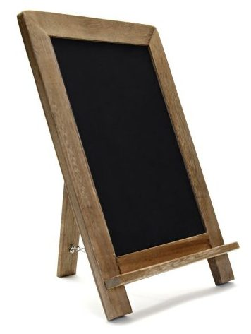 Rustic Wooden Framed Standing Chalkboard Sign
