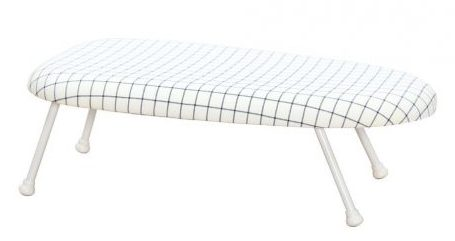 StorageManiac Tabletop Ironing Board with Folding Legs