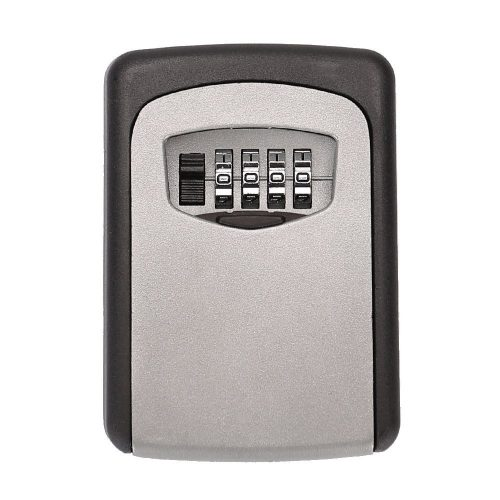 Adaptable Key Lock Box Wall Mount Key Lock Box 4-digit Combination Key Storage Lock Box Weatherproof For Outdoor Indoor Durable In Use Kleidung & Accessoires