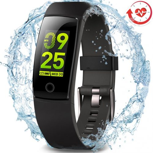 Waterproof Health Tracker,MorePro Fitness Tracker Color Screen Sport Smart Watch