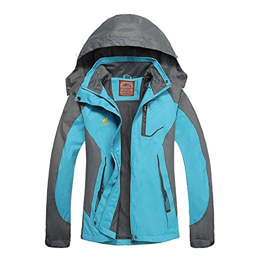Women's Hooded Waterproof Jacket