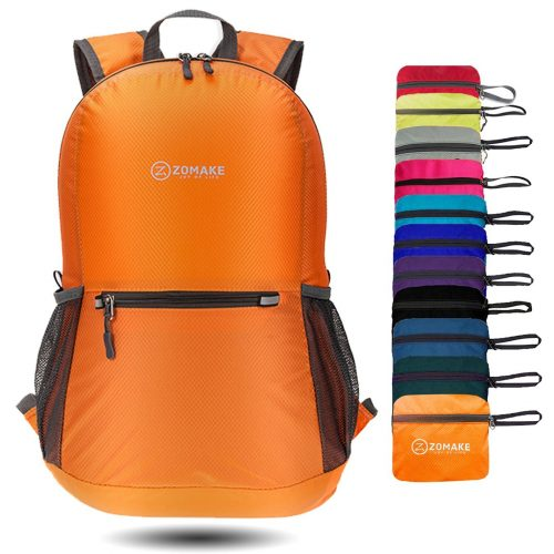 ZOMAKE Ultra Lightweight Packable Backpack Water Resistant Hiking Daypack