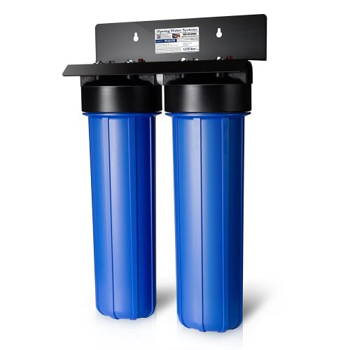 iSpring WGB22B 2-Stage Whole House Water Filtration System-Whole House Water Filters