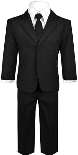 Baby Boys' Formal 5 Piece Dress Suit