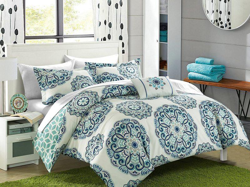 Chic Home Barcelona 8 Piece Reversible Comforter Set
