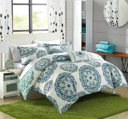 Chic Home Barcelona 8 Piece Reversible Comforter Set