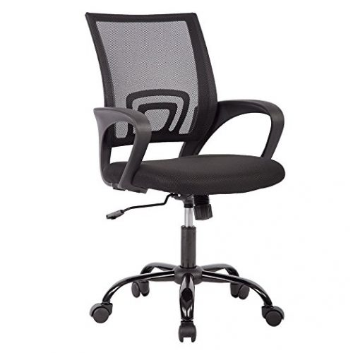Ergonomic Mesh Computer Office Desk Midback Task Chair w/Metal Base