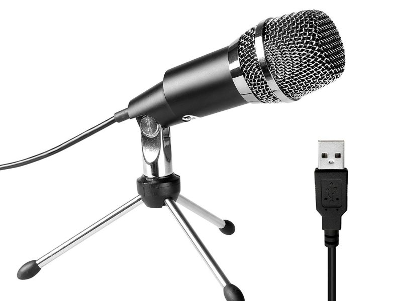Fifine USB Microphone, Plug &Play Home Studio USB Condenser Microphone