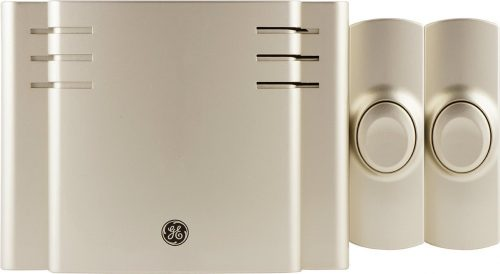 GE Wireless Doorbell Kit, 8 Melodies,