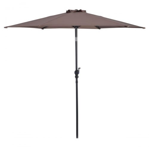 Giantex 10ft Patio Umbrella 6 Ribs Market Steel