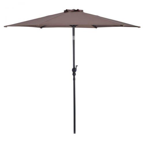 Giantex 10ft Patio Umbrella 6 Ribs Market Steel