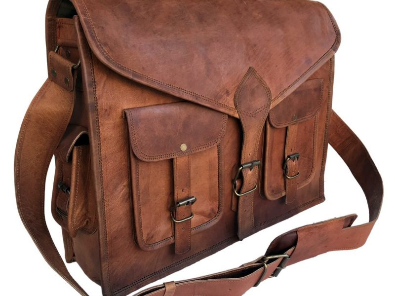 6181fed03ab3 Top 10 Best Leather Messenger Bags in 2019 - DTOPLIST