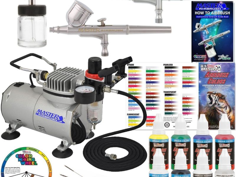 Master Airbrush Professional 3 Airbrush System