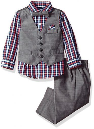 Nautica Baby Boys' Set with Vest, Pant, Shirt