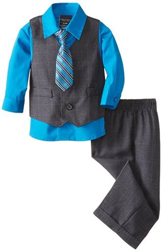 Nautica Boys' Set with Vest, Pant, Shirt