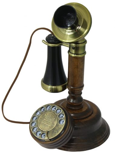 OPIS 1921 CABLE - MODEL C - antique style telephone -Rotary Phones