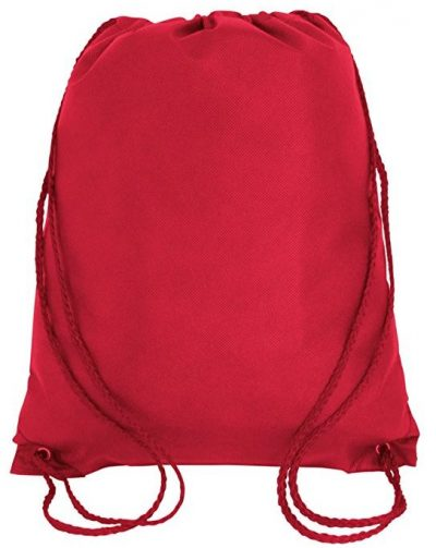 Pack of 25 - Non-Woven Promotional Drawstring Backpack Bags in BULK-Drawstring Bags