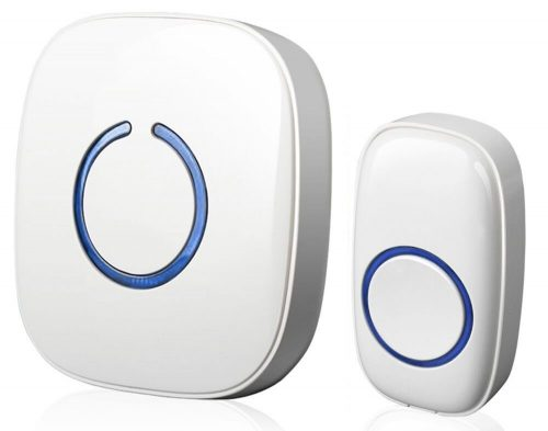 SadoTech Model C Wireless Doorbell Operating at over