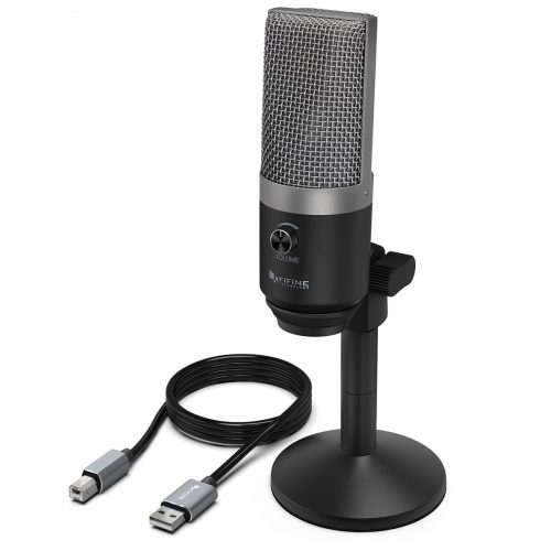 USB Microphone,FIFINE PC Microphone for Mac and Windows-Computer Microphones