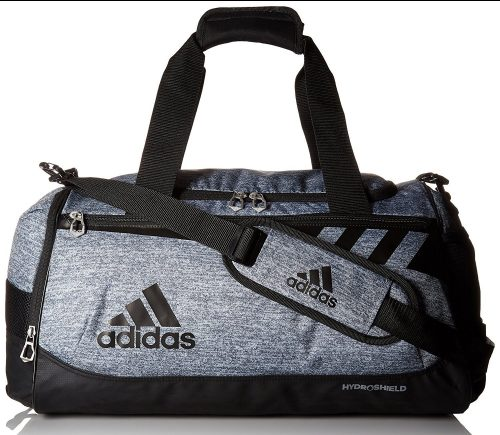 adidas Team Issue Duffel, Medium, Onix Jersey/Black