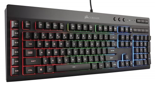 CORSAIR K55 RGB Gaming Keyboard-Quiet Gaming Keyboards