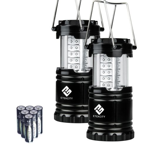 Etekcity 2 Pack Portable LED Camping Lantern Flashlights-Camping Lanterns