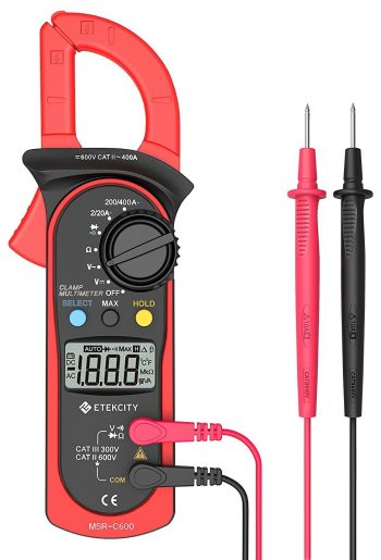 Etekcity MSR-C600 Digital Clamp Meter Multimeters-Clamp Meters