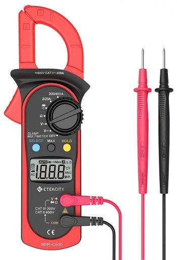 Etekcity MSR-C600 Digital Clamp Meter Multimeters