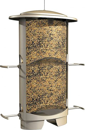 More Birds X-1 Squirrel-Proof Bird Feeder